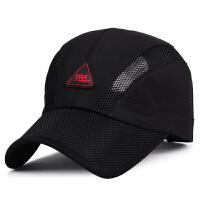 帽子春夏季户外登山运动棒球帽男女士透气网帽防晒鸭舌帽
