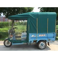 电动三轮车车棚遮阳棚挡雨棚方管折叠封闭电三轮车棚篷雨棚加厚新品