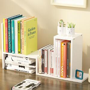 书架 现代简约简易桌上学生用儿童书桌面置物架宿舍小书柜办公收纳架子简约迷你多功能收纳柜