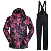 滑雪服 男 加厚保暖套装韩国大码防风防水单双板滑雪衣冬季新品