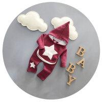 男宝宝冬装套装1-2-3岁男童冬季韩版加绒加厚2016新款婴儿衣服潮
