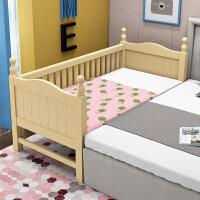 实木床婴儿床拼接大床拼接小床带护栏公主床边加宽床 其他