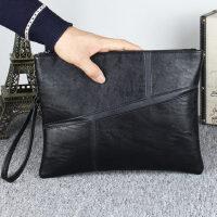 户外男士手包时尚简约韩版商务手挽包男大容量信封手包