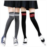 过膝袜日系秋冬女过膝袜加长厚韩国长筒袜子堆堆袜套美腿袜高筒袜