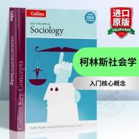 华研原版 柯林斯社会学入门核心概念 英文原版社会学 Key Concepts in Sociology 全英文正版进口