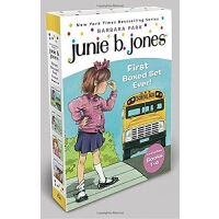 Junie B. Jones's First Boxed Set Ever! (Books 1-4) 1-4套装