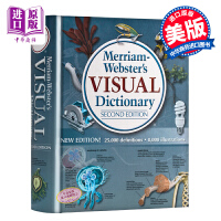 预售 英文原版 韦氏图解词典 Merriam-Webster Visual Dictionary [精装]