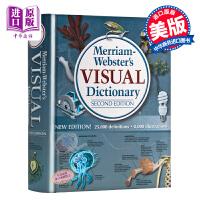 【中商原版】英文原版 韦氏图解词典 Merriam-Webster Visual Dictionary [精装]