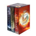 Divergent Series Complete Box Set Book 1-3 分歧者三部曲套装(全3册,美国版
