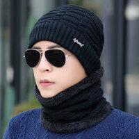 韩版潮套头帽棉男士防寒帽帽子男冬天保暖毛线帽护耳针织帽