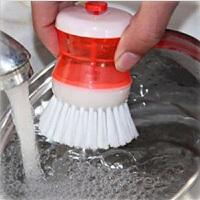 液压刷锅器洗锅刷自动加液便利清洁刷洗锅器洗碗刷子洗碗刷 颜色随机