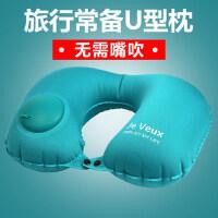 旅行枕头护脖子颈椎枕飞机靠枕成人 旅游便携按压自动充气U型枕