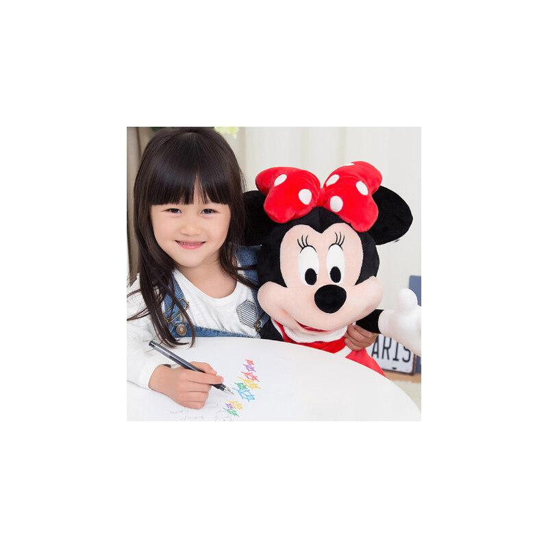 正版米老鼠毛绒玩具布娃娃玩偶米奇米妮公仔抱枕送女生生日礼物