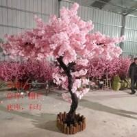 假树仿真樱花假桃树大型植物仿真樱花树仿真桃花树许愿树桃花客厅装饰
