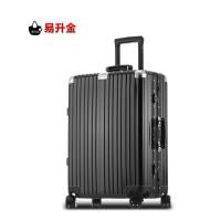 AA 复古拉杆箱20寸24寸28寸PC+ABS铝框箱旅行行李箱万向轮登机箱