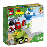 【当当自营】乐高(LEGO)积木 得宝DUPLO 玩具礼物1.5岁+ 我的创意汽车收藏馆 10886