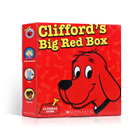 """大红狗五十周年纪念套装Clifford's Big Red Box大红狗故事集10本Norman Bridwell 快和我们一起来认识大红狗克里弗和它的朋友们!""""大红狗克里弗""""系列 畅销美国五十年"""