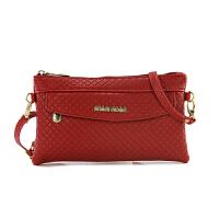 新款中老年手提包单肩斜跨包时尚妈妈包买菜包零钱包女包手拎 红色