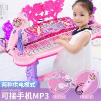 【限时抢】儿童电子琴女孩初学者入门可弹奏音乐玩具宝宝多功能小钢琴3-6岁1