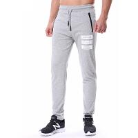 运动裤男长裤夏季新款韩版直筒修身休闲卫裤针织棉透气运动训练跑步裤