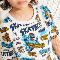 【专区任选3件99元】小虎宝儿童装男童2020夏季新款韩版男童短袖T恤中大童洋气休闲纯棉体恤潮