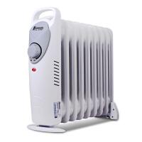 佳星(JASUN)JX-DF-1000H1-9 电热油汀 取暖器 9片1000W 电暖器 电暖气 银白色
