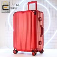 大红色行李箱结婚箱子陪嫁皮箱婚庆新娘拉杆箱女红色万向轮旅行箱