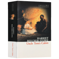 正版现货 汤姆叔叔的小屋 英文原版 Uncle Tom's Cabin 柯林斯经典文学 经典世界名著 全英文版小说 进