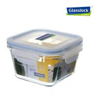 glasslock钢化玻璃密封保鲜盒便当饭盒微波炉 500ml保鲜盒 MCST-050/RP732