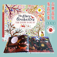 The Story Orchestra 英文原版 维瓦尔第四季 古典音乐布封 发声书绘本收藏版 Press the Note to Hear Vivaldi's Music