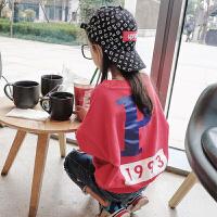 女童打底衫 春秋2018新款韩版时尚休闲宝宝小朋友上衣儿童卫衣