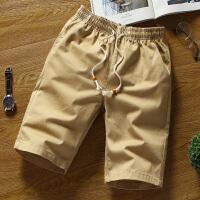 LES帅T夏季修身小码S码XS号五分裤纯棉短裤男矮小个子26 27休闲裤