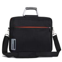 BRINCH 联想戴尔华硕宏基商务男女手提单肩电脑包12.5寸13.3寸14寸14.6寸15寸15.6寸斜跨笔记本包