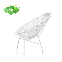 阳台休闲椅藤椅创意蛋椅子家用户外庭院铁艺藤编桌椅组合北欧简约