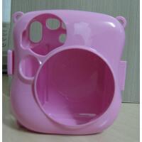 拍立得 mini25 kitty 相机包 mini25 迷你25彩色壳 保护盒 粉色壳