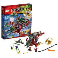 [当当自营]LEGO 乐高 NINJAGO幻影忍者系列 飞天旋转术超级战机 积木拼插儿童益智玩具 70735