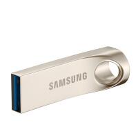 [礼品卡]三星U盘128G大容量金属定制优盘汽车载电脑128GU盘高速USB3.0 Samsung/三星