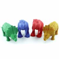 韩款侏罗纪公园主题橡皮 大恐龙造型橡皮擦 创意可拆卸分身自由组合玩具