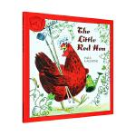 【中商原版】汪培廷推荐书单第一阶段 小红母鸡 进口英文原版绘本 The Little Red Hen 可以用木偶剧表演