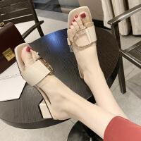 透明拖鞋女外穿可湿水夏季新款时尚百搭ins超火网红沙滩鞋潮