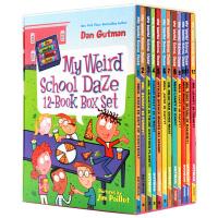 华研原版 疯狂学校第二季12册套装 英文原版 美国中小学生初级章节书 My Weird School Daze 正版进口英语书籍 全英文版