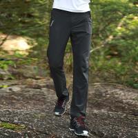速干裤男裤夏季户外运动裤子快干裤女裤薄款透气登山裤长裤