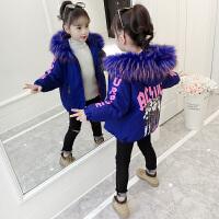 洋气儿童短款面包服加厚棉袄韩版外套潮女童冬装棉衣