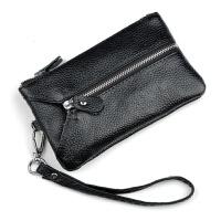 2018新款加长款手拿包 女士零钱包真皮多功能女士钥匙包手机包