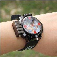 游奇 名侦探柯南 手表 翻盖 带激光表 激光麻醉 手表 卡通