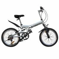 户外休闲运动健身20寸自行车山地车6变速单车 折叠车
