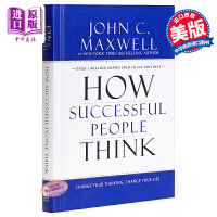 【中商原版】[英文原版]How Successful People Think 成功人士的思维方式