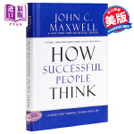 【中商原版】[英文原版]How Successful People Think 成功人士的思维方式