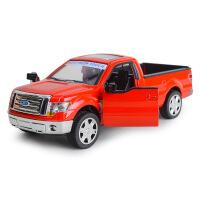 MZ美致散装福特皮卡F-150合金汽车模型带回力声光功能儿童玩具车