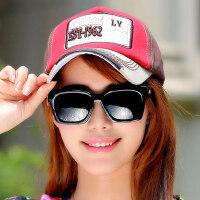 韩版潮户外帽休闲帽鸭舌运动帽遮阳帽时尚女士棒球帽